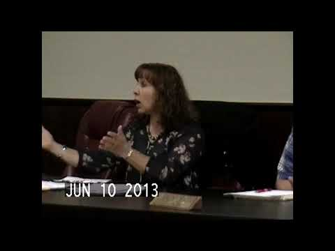 Chazy Town Board Meeting 6-10-13