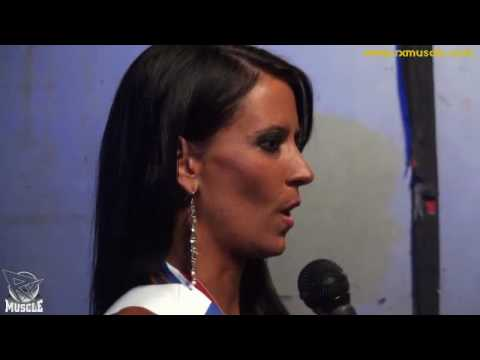 Missy Coles After Winning the 2010 IFBB New York Pro ...