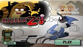 Cartoon Network Games: Regular Show Killer Z's [Gameplay
