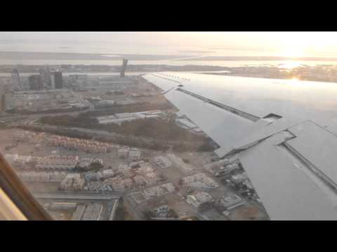 Takeoff from Abu Dhabi Al Bateen in a Rotana Jet E145