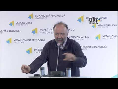 Andriy Kurkov. Ukraine Crisis Media Center. March 7, 2014