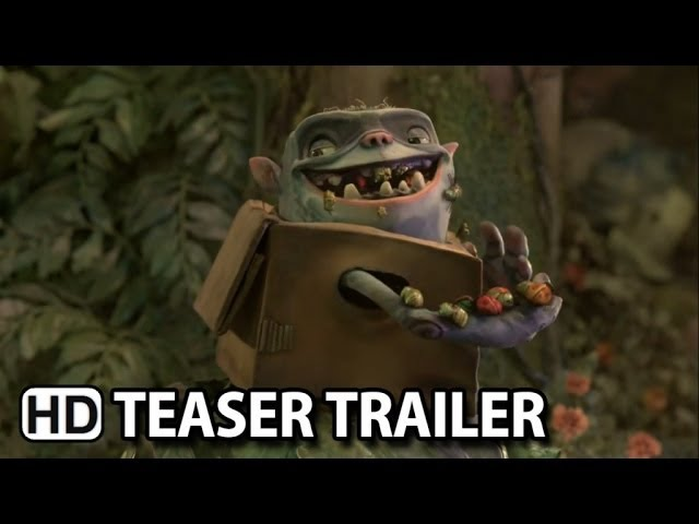 The Boxtrolls Official Teaser Trailer #4 (2014) HD