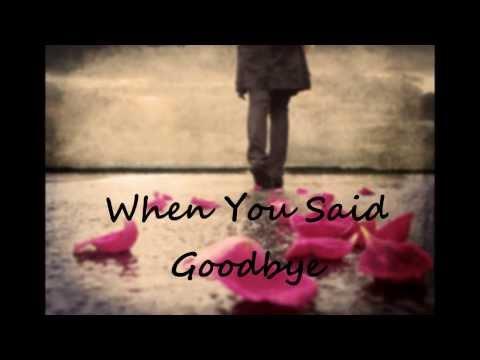 When You Said Goodbye - Julie Anne San Jose (lyric video)