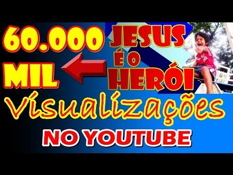 JESUS É O HERÓI (MUSICA INFANTIL GOSPEL)