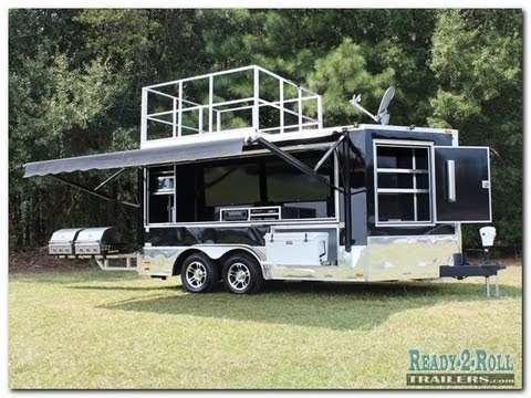 The Truly Ultimate Tailgate Trailer Taken To The Extreme