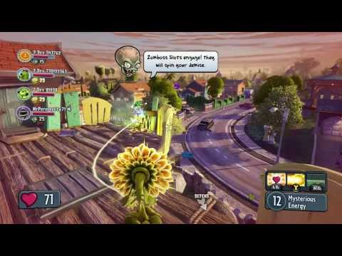 Plants vs. Zombies Garden Warfare - 4-Player Co-Op Gameplay with Developer Commentary