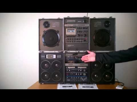 Reli's Ghettoblasters: Loudest ever? Panasonic RX-A5 versus the RX-6400 (National RXA2) boombox