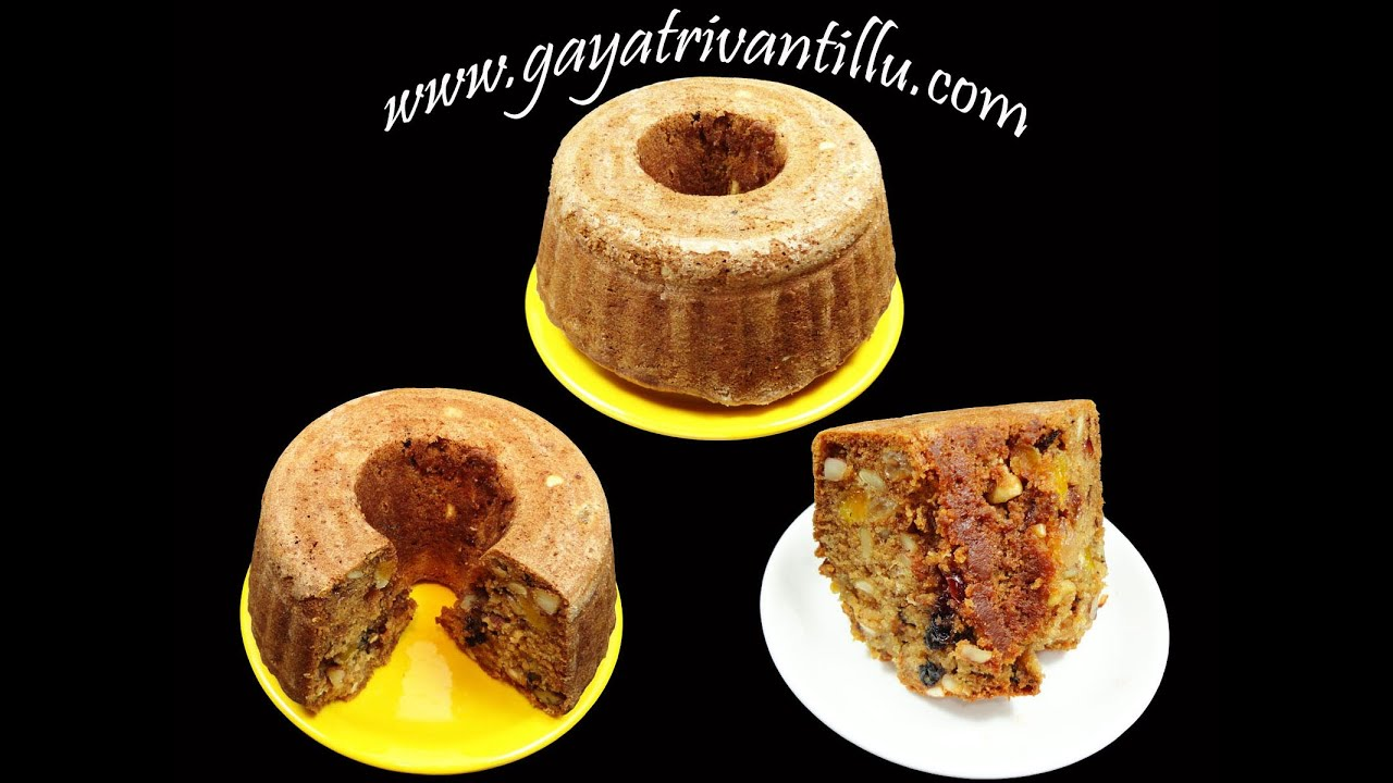 Fruit And Nut Cake Recipe Indian