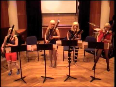 Lady Gaga Saga, The Breaking Winds Bassoon Quartet