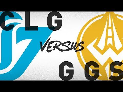 CLG vs. GGS - Week 9 Day 2 | NA LCS Summer Split | Counter Logic Gaming vs. Golden Guardians (2018)