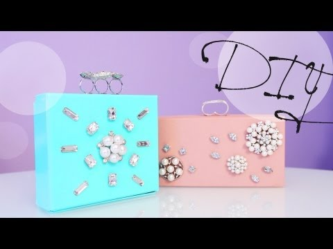How to Make a Jewelry Box Clutch - Great Gift Idea