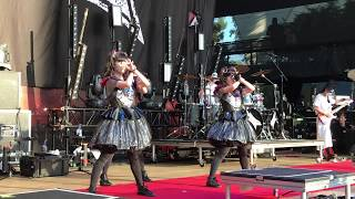 BabyMetal 2017 - YAVA! - Mountain View, CA (4k Quality)