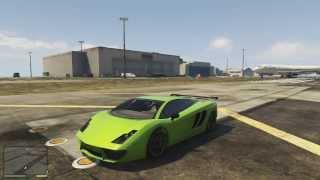 """GTA 5: Cars """"Vacca"""" (McLaren/ Lamborghini)"""