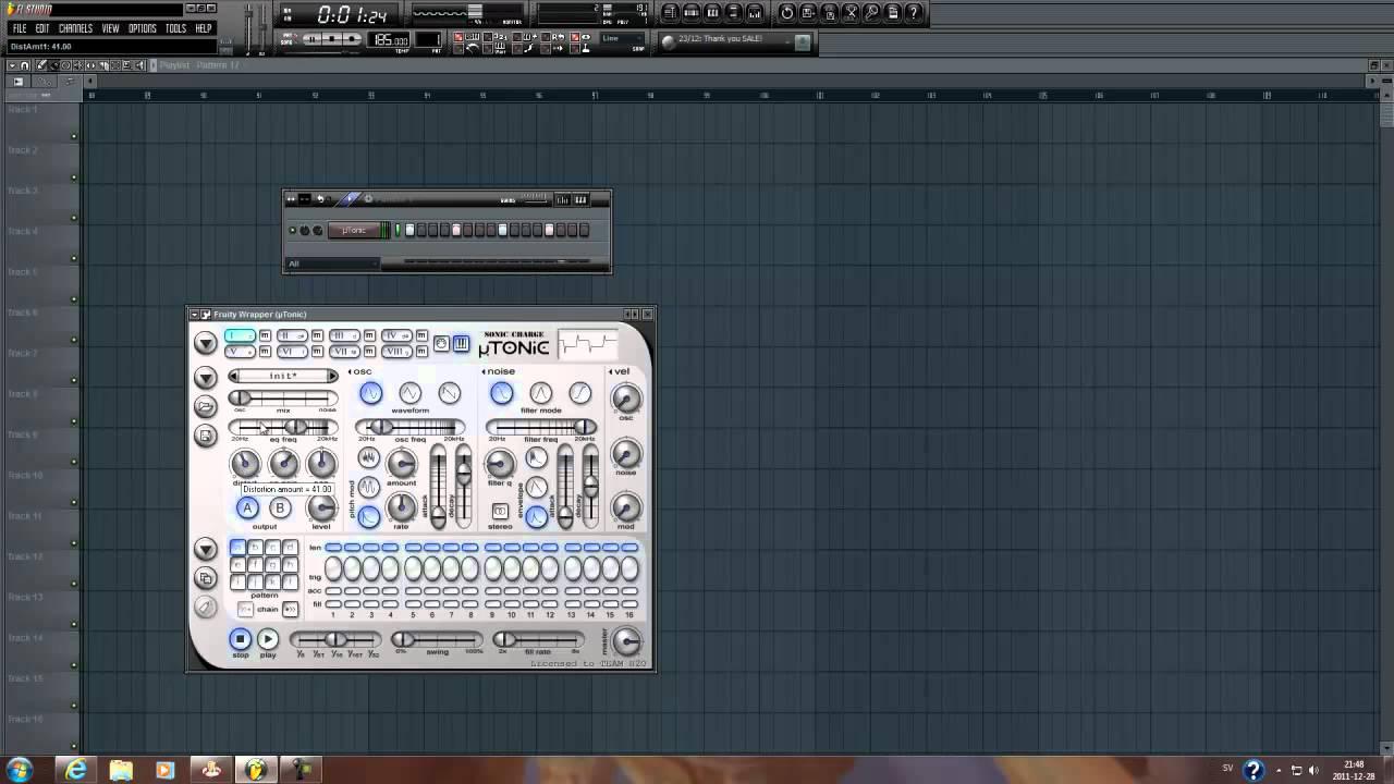 how to make gradient in fl studio