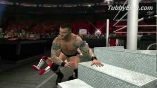 WWE 12 Road To Wrestlemania GAMEPLAY! (WWE 12 Gameplay