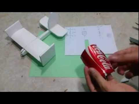 cách làm máy bay cánh bằng mini có điều khiển từ xa chỉ cần một động cơ mà bay rất đẹp