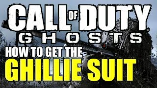 COD GHOST GHILLIE SUIT (How To Get The Ghillie Suit)
