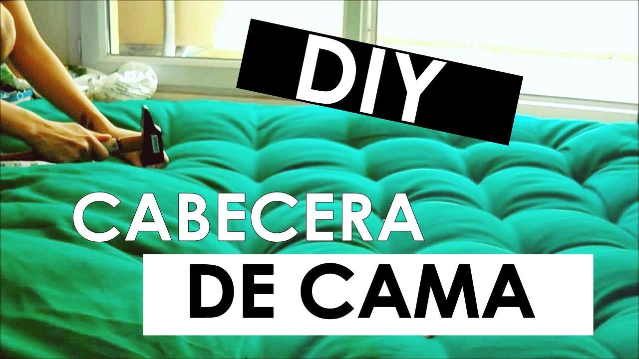 Diy hacer una cabecera de cama acolchonada youtube for Como hacer una cabecera de cama