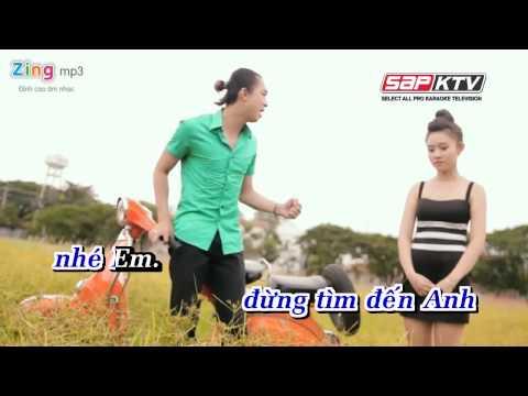 Dung Tim Den Anh  Ho Viet Trung karaoke full beat