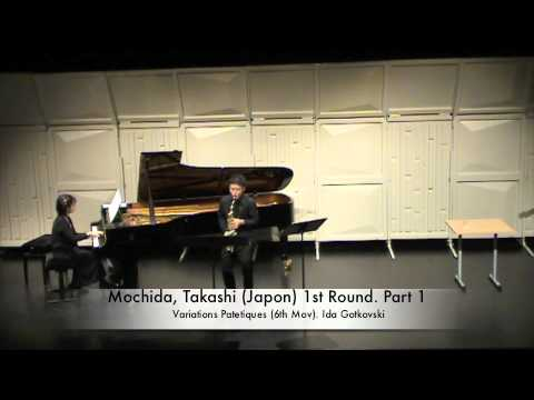 Mochida, Takashi (Japon) 1st Round. Part 1