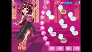 Draculaura In 13 Wishes Dress Up Game Preview