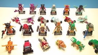 KRE-O TRANSFORMERS MICROCHANGERS WAVE 4 FULL COLLECTION