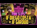 UPGRADED INFORM DIEGO COSTA + GIROUD PINK SLIPS! | FIFA 14 Ultimate Team