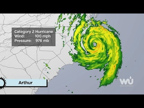 Weekly Weather Roundup: Hurricane Arthur