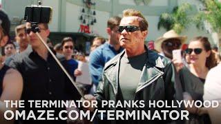 Arnold v uliciach ako terminátor