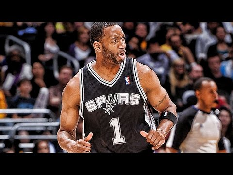 Tracy McGrady Finally Advances to 2nd Round! T-Mac's Spurs Debut Highlights(R1/G4/04.28.2013)