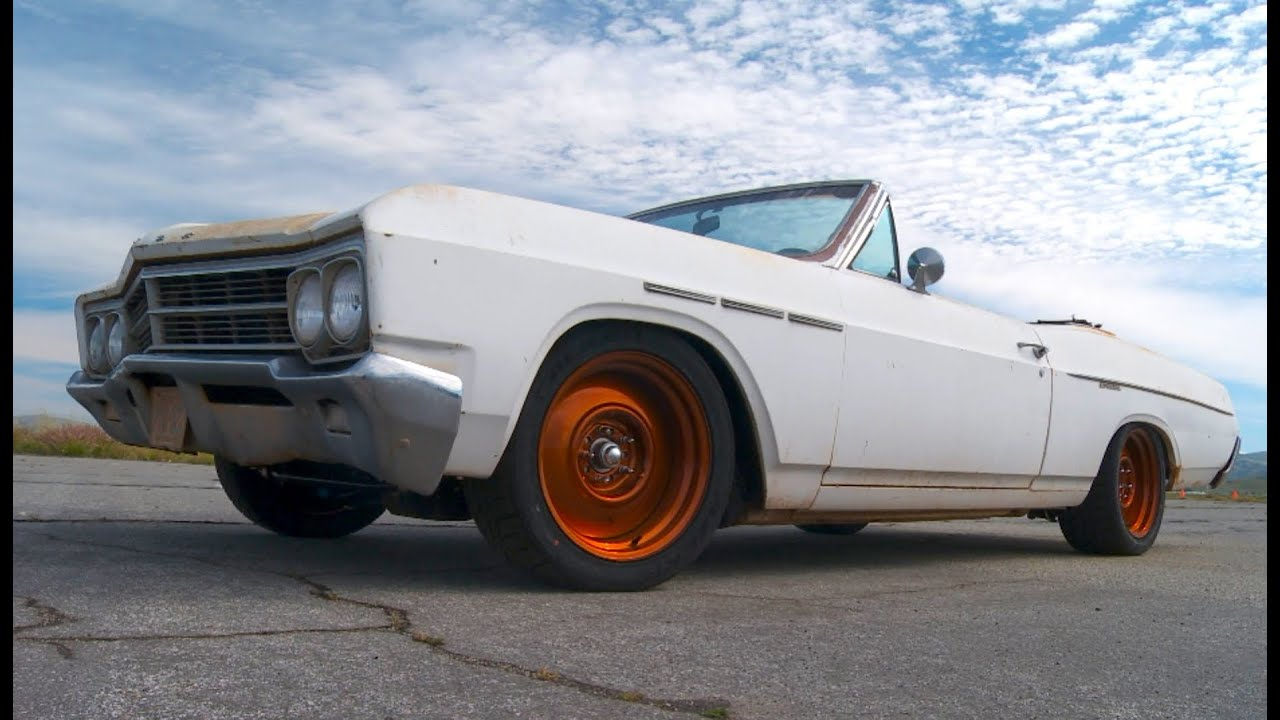 Barn Find 66 Buick Hits The Autocross Hot Rod