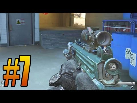 Ghosts 5 KD Challenge Episode 7 - Hunted Gameplay! (Call of Duty: Ghost PS4 Playstation 4)