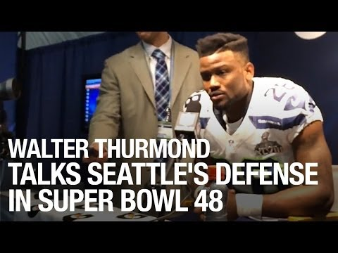 Walter Thurmond Talks About Seattle's Defense In Super Bowl 48