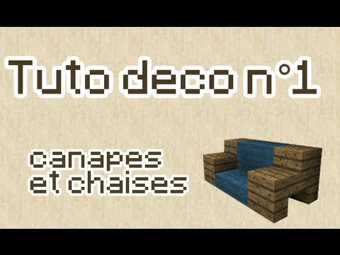 Minecraft tuto d co n 1 for Decoration maison minecraft