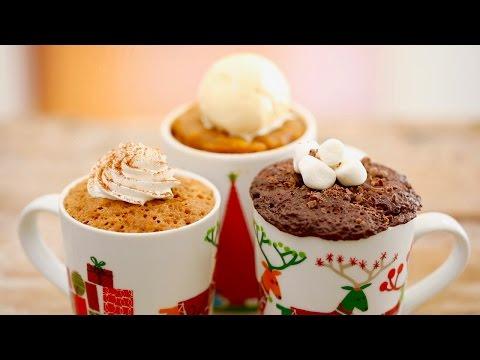 Seasonal Microwave Mug Cakes (Egg Free Recipes) - Gemma's Bigger Bolder Baking Ep 151