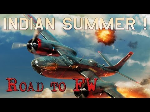 War Thunder - Road to FW (1) Indian Summer