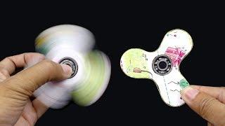 Cách làm con quay Hand Spinner bằng giấy cứng