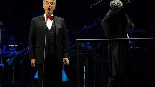Andrea Bocelli Concert at Madison Square Garden, New York City