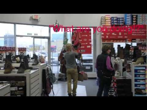OBVIOUS SHOPLIFTING PRANK!
