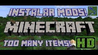 Como Instalar Mods En Minecraft 1.7.9-1.7.2-Como Instalar