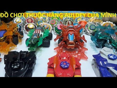 Các đồ chơi hãng auldey của mình