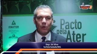 Deputado Zé Silva mostra como será o Pacto Nacional pelo Fortalecimento da Ater