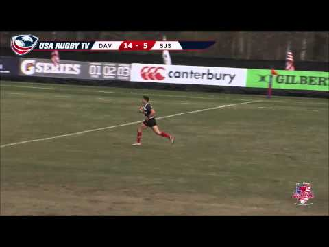 2013 USA Rugby College 7s National Championship: Davenport vs. San Jose State