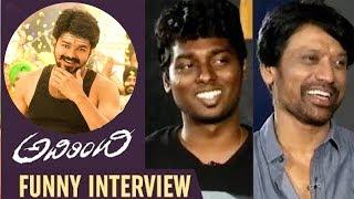SJ Surya & Atlee Funny Interview | Adhirindhi Telugu Movie