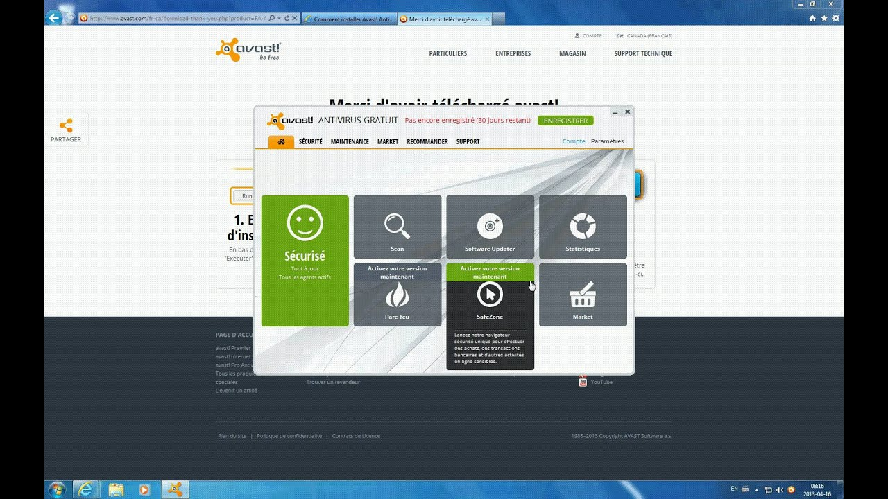 telecharger et installer avast antivirus gratuit