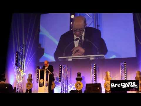 Jean-Yves Le Drian à l'AG de Produit en Bretagne : J'ai compris la protestation des Bretons