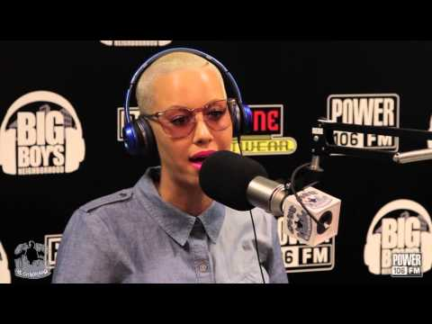 Amber Rose Talks Starting Rose and Ono Clothing Line