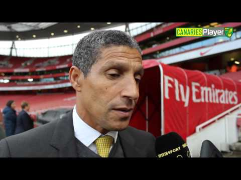 Chris Hughton Reflects On Loss At Arsenal