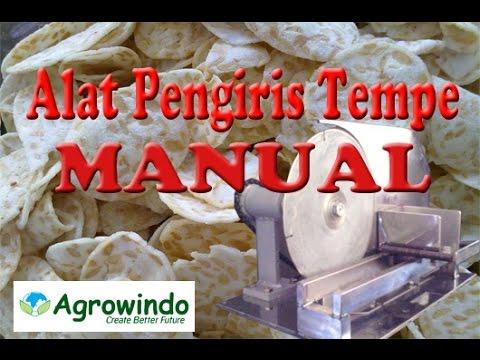 Alat Pengiris Tempe Manual Stainless Steel