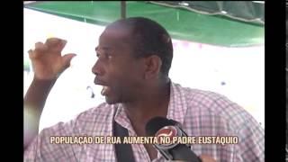 Moradores reclamam de ocupa��o de feira coberta por moradores de rua no Padre Est�quio